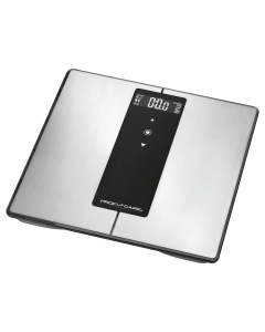ProfiCare 9 in 1 Diagnose-Waage mit Bluetooth PC-PW 3008 BT edelstahl/schwarz